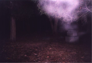 "SOS' ""Ghostly Images"" Series 1 – Batchelor Grove Cemetery I"